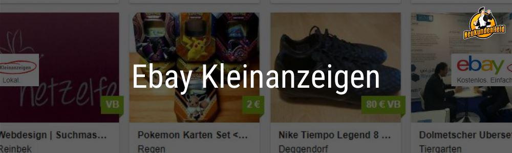 Ebay Kleinanzeigen Onlinemarketing und Neukundengewinnung www.Neukundenheld.de