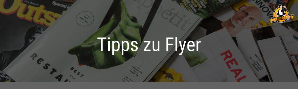 Tipps zu Flyern Onlinemarketing und Neukundengewinnung www.Neukundenheld.de