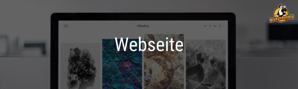 Webseite Onlinemarketing und Neukundengewinnung www.Neukundenheld.de